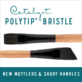 Polytip Bristle Short
