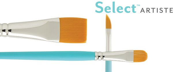 Select™ Artiste Multiple Filament Oil Painting Brushes