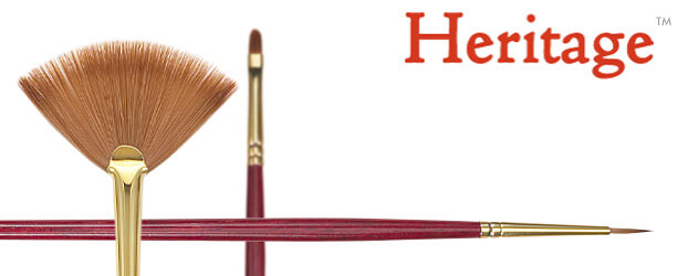 Heritage™ Synthetic Sable Oil Painting Brushes