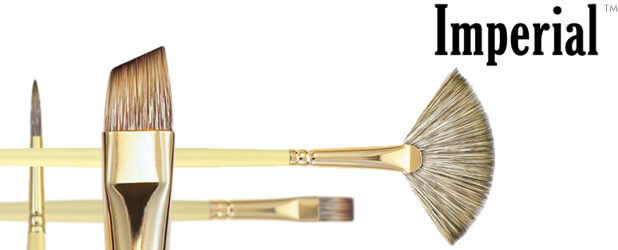 Imperial™ Synthetic Mongoose Oil Painting Brushes