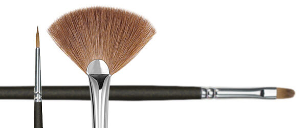 Red Sable Oil Painting Brushes