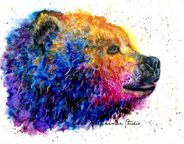 Grizzly Bear, 'Power Animals of the Planet' 2015