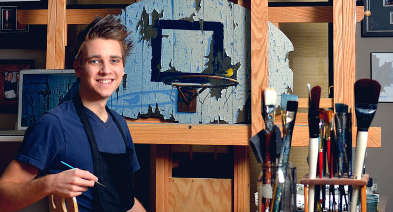 Josh-with-Easel-Cropped-web