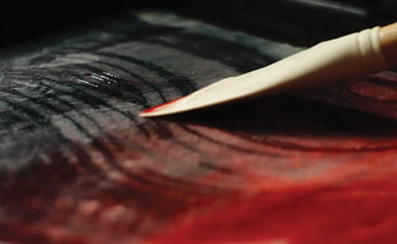 Catalyst™ art paint tools for wax application