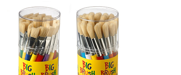 Kids Stubby Brushes