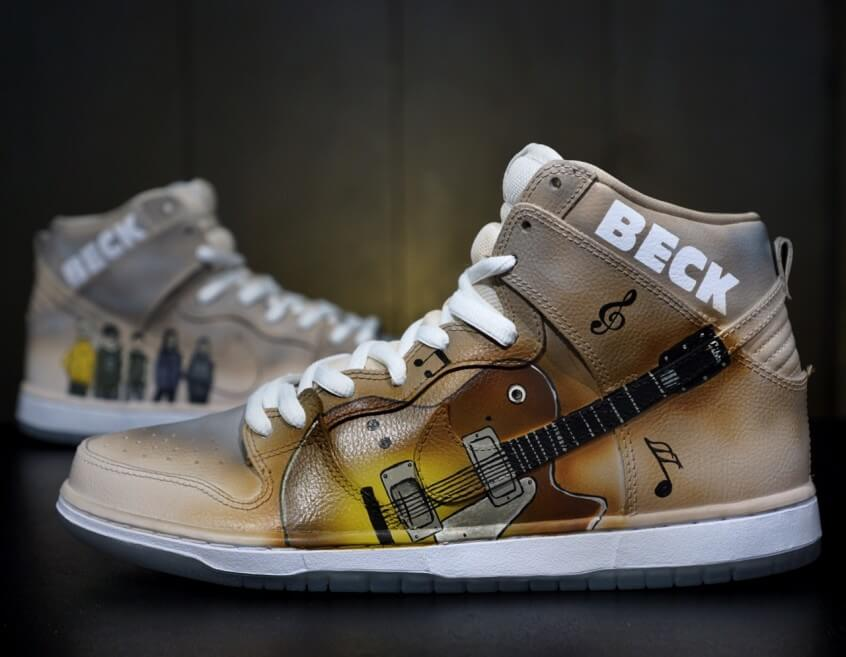 Painting Shoes with Kickstradomis