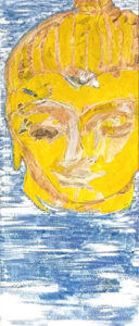 Diety Head by K.D. Tobin, Abstract Artist