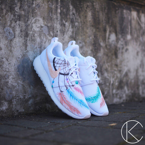 Painted Shoes by Kendra's Customs