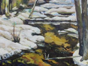 Plein Air Painting by Paul Trottier on Princeton Artist Brush Co.