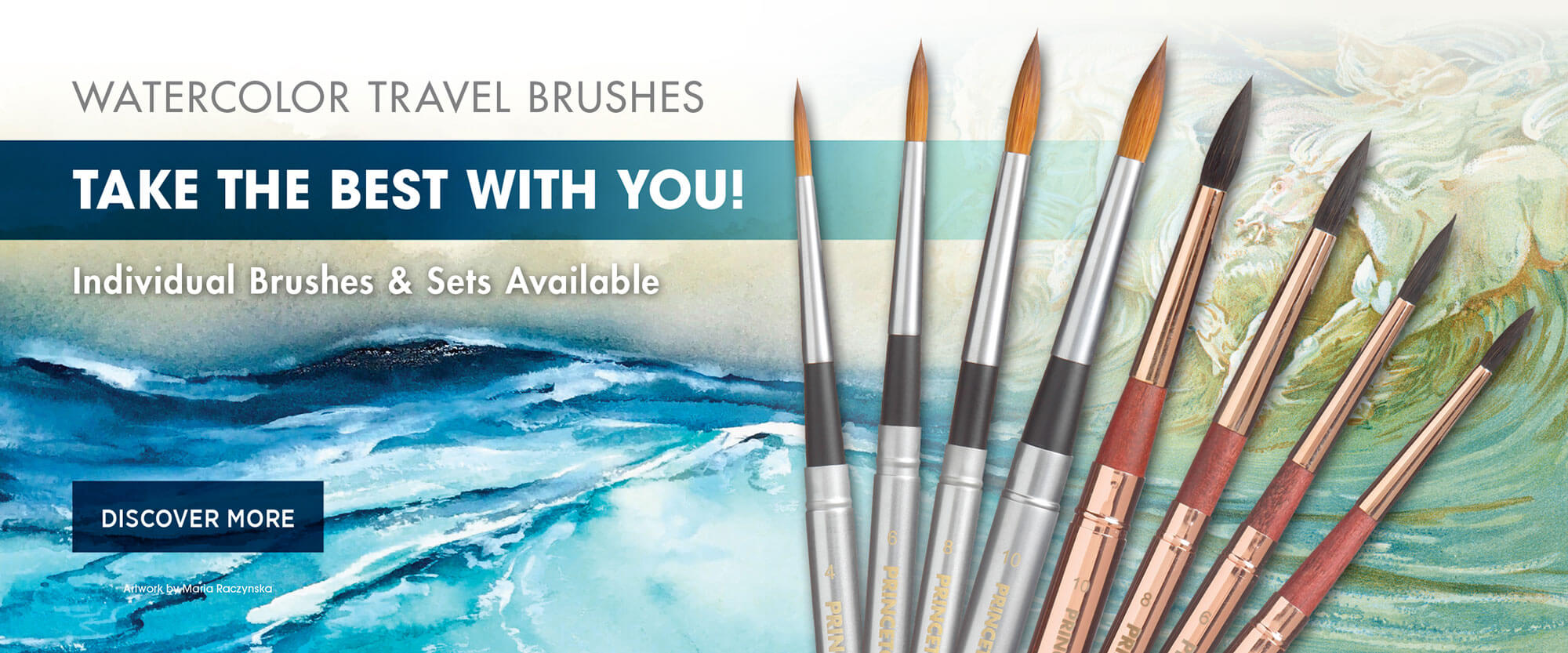 Aqua Elite Travel Brushes